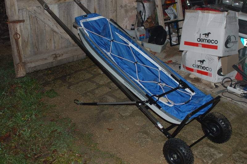 chariot pour pulka 2 versions ski randonn e nordique. Black Bedroom Furniture Sets. Home Design Ideas